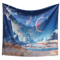 "59"" x 51"" Tapestry Wall Hanging Outer Space Planet Room Bedspread Home Decor"