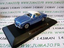 AK6 voiture 1/43 ixo atlas Auto Klassiker : VOLKSWAGEN VW Karmann Ghia bleu