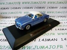 AK6 coche 1/43 ixo atlas Auto Klassiker : VOLKSWAGEN VW Karmann Ghia azul