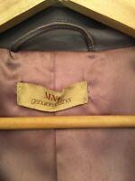 mango leather jacket Size 14 Worn