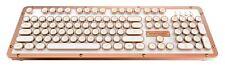 AZIO MK RETRO CLASSIC POSH Vintage Typewriter Bluetooth Mechanical Keyboard