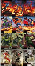 2017 FLEER ULTRA SPIDER MAN MARVEL 1995 LEGACY COMPLETE 12 CARD INSERT CHASE SET