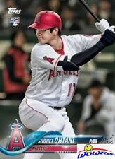 2018 Topps Shohei Ohtani FIRST PRINTED TOPPS ROOKIE CARD w/RC Logo MINT Angels