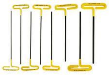 Bondhus 46532, 8 Pc. Set, T-Handle Hex, Cushion Grip, 9″ w/ Pouch, USA Made
