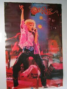 "Vintage Original 1979 ""The Rose"" Poster Bette Midler Movie Scene Thought Factory"