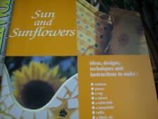 Ideas Books Sun & Sunflowers Painting Book, 1999 - Cushions, Glasses, Rug, Mirro