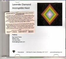 (DH376) Lavender Diamond, Incorruptible Heart - 2012 DJ CD