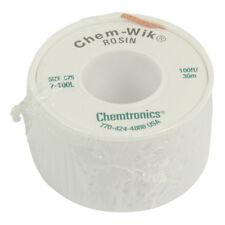 TRESSE A DESSOUDER 1.9 mm 30 M CHEMTRONICS ULTRA FINE VERT CHEM WIK LA