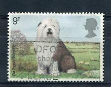 GRANDE-BRETAGNE 1978, timbre 880, CHIEN de BERGER ANGLAIS, oblitéré