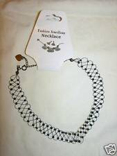 12 Black Beaded Stretch Necklaces Adjustable BRAND New Lot