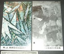 Rudolf J KRONBERGS (2) show catalogs