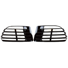 OE REPLACEMENT LH DRIVER + RH PASSENGER SIDES LED DRL GRILLE FOR 12-13 VW GOLF R