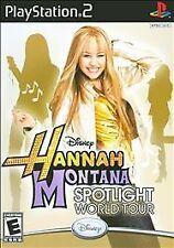 PlayStation2 : Hannah Montana Spotlight World Tour VideoGames