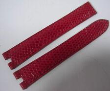 Bracelets de montre rouges Cartier