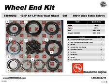"74070002 Chevy 2500/3500 Wheel End Kit DRW GM 10.5"" 2011+ / AAM 11.5""  '01-'10"