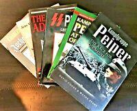 SS COLONEL JOCHEN PEIPER BIOGRAPHIES, 6 BOOK COLLECTION, $59.00
