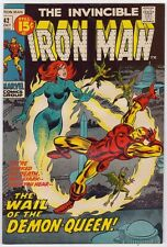 1971 The Invincible Iron Man # 42 - Mikas