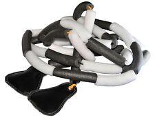 Corda elastica per salto in alto - speciale struttura con sacchetti di sabbia