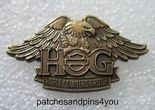 Harley Davidson HOG New Style Eagle Pin NEW! FREE U.K. POSTAGE!