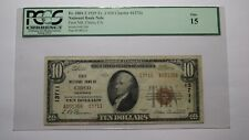 $10 1929 Chico California CA National Currency Bank Note Bill! Ch. #13711 FINE!