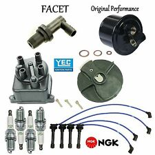 Tune Up Kit Cap Rotor Wire Spark Plugs for Honda Civic CX; DX; LX; 1.5L 92-94
