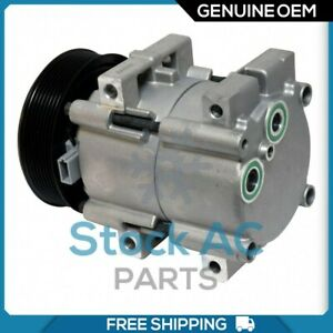 New DENSO A/C Compressor for Ford E-350, Econoline, F, F-250, F-350, F59.. - QR