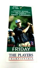 The Players Championship TPC Sawgrass Friday Ticket Pass Golf March 26, 1999