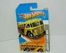 Hot Wheels HW VIDEO GAME HEROES SURFIN' SCHOOL BUS Yellow w/MC5's 2011