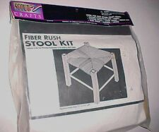 "Scout Crafts Fiber Rush Stool Kit 17193 Boy Scouts of America 11"" x 11"" x 9"" New"