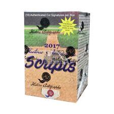2017 Historic Autographs Scripts Baseball Hobby Box