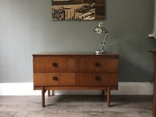 Remploy teak sideboard / draws / mid century