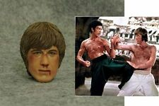 """1:6 CIAN The Way of the Dragon Chuck Norris Scars Head Fit F 12"""" ferritic Figure"""