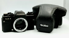 ROLLEIFLEX SL35 E 35mm film SLR camera body only with case