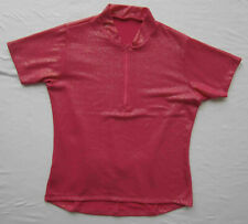 Women's Bike Jersey Pink with Shimmer overlay NWOT Small