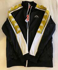 kappa track jacket New Black XXL
