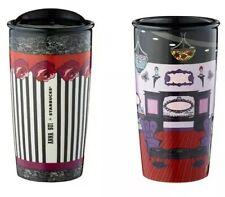 Taiwan Starbucks 12oz Anna Sui double wall 2 Tumbler mug set NEW In Box