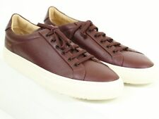 NEW COMMON PROJECTS PREMIUM LOW Burgundy Leather Mini Ripple Sole 42 EU