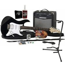 Yamaha GigMaker Electric Guitar Starter Pack - Black GUITAR ESSENTIALS BUNDLE