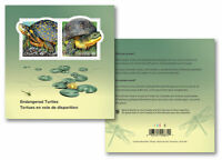 *In Stock 2019 Canada Endangered Turtles Souvenir Sheet 2 Stamps Reptile 2 Sides