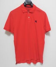 EXPRESS Polo Shirt - Men's Size L - Fitted Modern Pique Casual Solid Button
