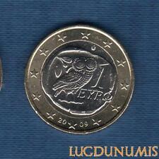 Grèce 2009 1 euro SUP SPL Provenant d'un rouleau - Greece