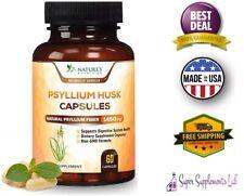 PSYLLIUM HUSK 60 CAPSULES 1450 mg per Serving Weight Loss Fiber Supplement Pills