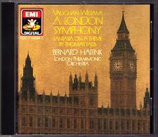 Bernard HAITINK: VAUGHAN WILLIAMS A London Symphony Tallis Fantasia EMI 1987 CD
