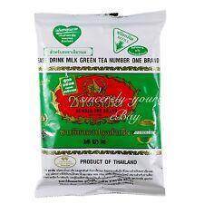 1 Pack Thailand Original Thai Milk Green Tea Mix Number One Brand 200g (7oz)