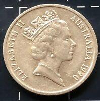 1990 AUSTRALIAN 5 CENT COIN