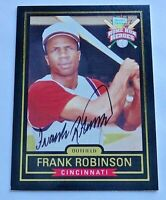 Frank Robinson 1999 Hillshire Farms Home Run Heroes Cert. Auto Cincinnati Reds