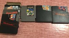 "LOTTO 4 GIOCHI NINTENDO NES""SUPER MARIO, TURTLES, DUCK TALES, PUNCH-OUT."