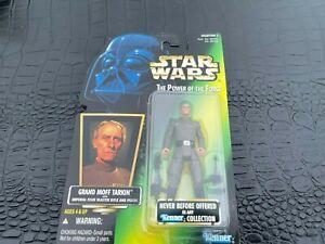 1996 MOC POTG Grand Moff Tarkin Action Figure Hasbro Star Wars (S12-BX6)