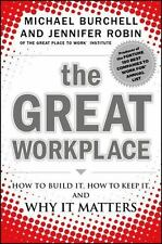 The Great Workplace: How to Build It, How to Keep It, and Why It-ExLibrary