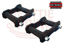 Shackle Kit for Rear Leaf Springs on Mustang and Falcon OE Spec (Pair)